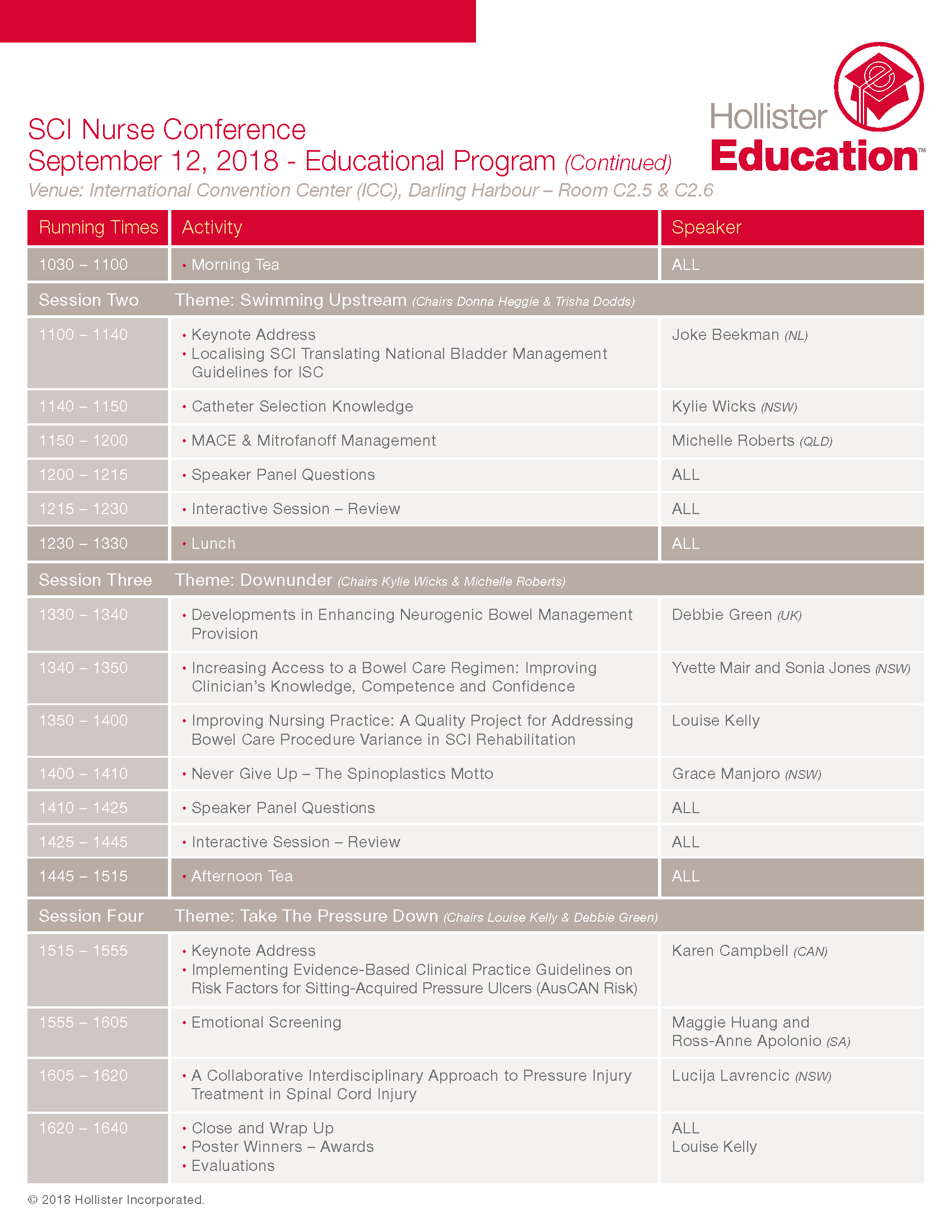 HOL Education Agenda SCIConference r9 Page 2